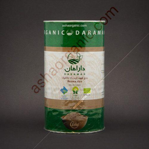 برنج قهوه ای دارامان ارگانیک