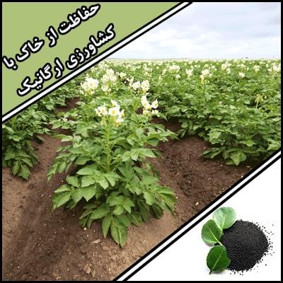 حفاظت از خاک با کشاورزی ارگانیک