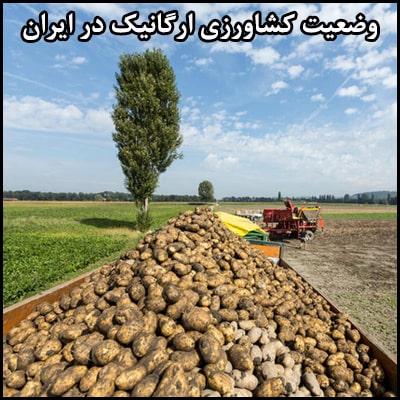 وضعیت کشاورزی ارگانیک در ایران