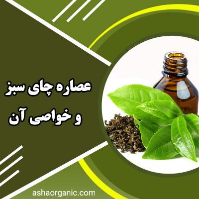 عصاره چای سبز چیست و چه خواصی دارد