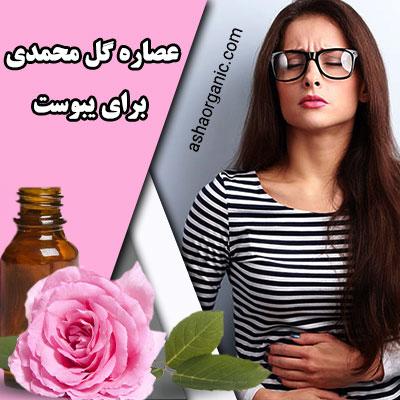 خواص عصاره گل محمدی برای یبوست